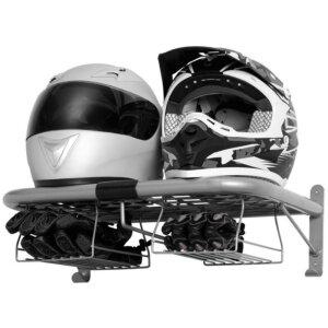 Полка для хранения шлемов и перчаток