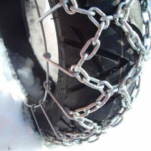 Цепи противоскольжения на колеса скутера мопеда 1