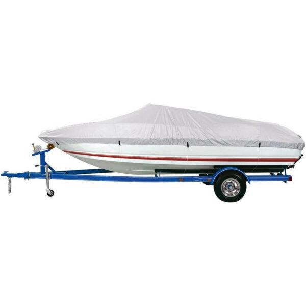 Тент чехол для лодки катера 14-22 фута (4
