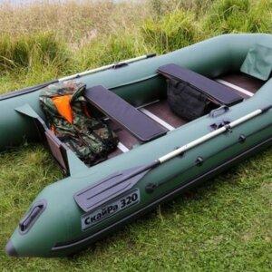 Лодка ПВХ Скайра 320 Оптима plus