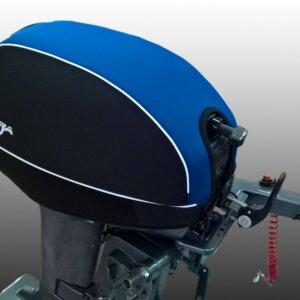 Чехол для лодочного мотора 2т 15 л.с Yamaha синий