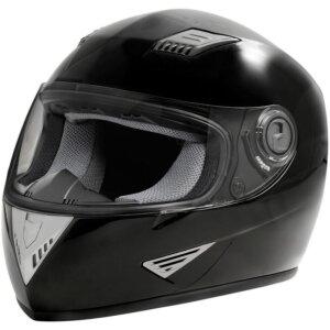 Шлем интеграл черный XS-XL