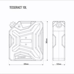 Канистра 10л Tesseract