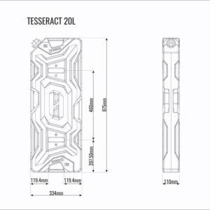 Канистра 20л Tesseract