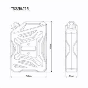 Канистра 5л Tesseract
