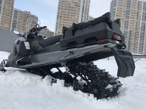 Кофр для снегохода Tesseract Titan 800 Polaris 2