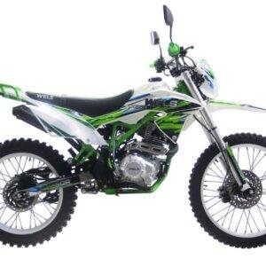 Мотоцикл Wels MX 250-R Зеленый