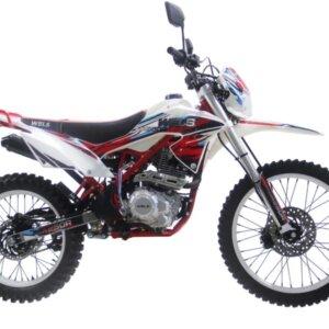 Мотоцикл Wels MX 250-R Красный