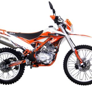 Мотоцикл Wels MX 250-R/X Оранжевый