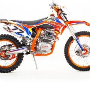 Кроссовый мотоцикл Motoland WRX250 KT с ПТС