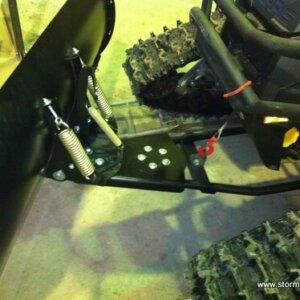 Удлинитель толкателя снегового отвала для квадроцикла Storm 2