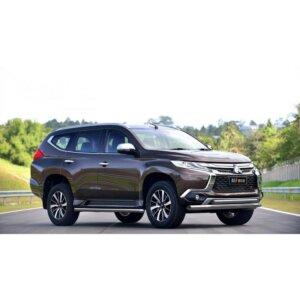 Защита порогов 50,8 мм для Mitsubishi Pajero Sport 2013-2016