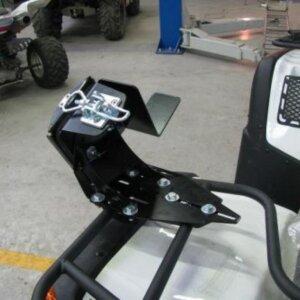 Крепление для бензопилы на квадрацикл