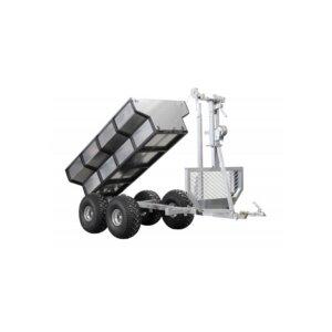 """Прицеп к квадроциклу Iron Baltic ATV timber trailer """"ECO 700"""" 2"""