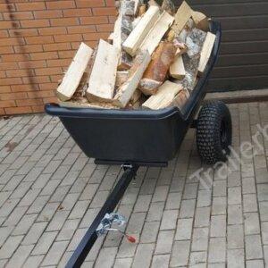Прицеп для квадроцикла Batr 1500 пластик 1