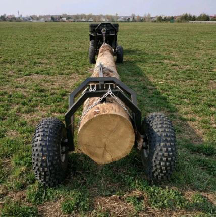 Прицеп на квадроцикл для перевозки бревен Batr