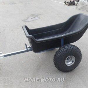 Прицеп для квадроцикла Farmer на колесах низкого давления вид сбоку