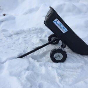 Тележка прицеп для квадроцикла садовая