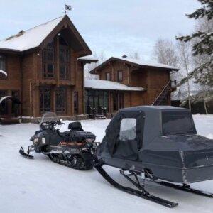 Сани волокуши для снегохода SkyViking