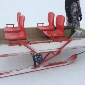 Сани волокуши для снегохода грузопасcажирские Snow-Viking