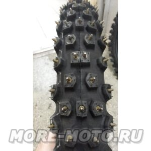 Мото покрышка зимняя с шипами Mitas 80/100-21 1