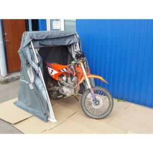 Палатка гараж для мотоцикла стандартного размера