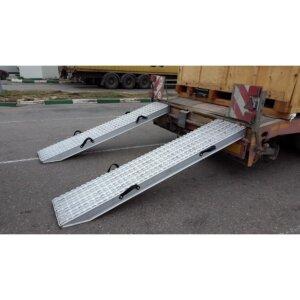 Алюминиевые аппарели до 60 тонн 1