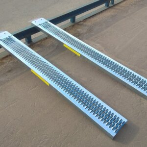 Трапы сходни для квадроцикла 193см 225кг сталь