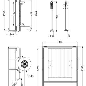 Прицеп для квадроцикла Alfeco 250