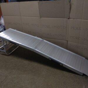 Трапы аппарели для тележек и генераторов 183 см 136 кг алюминиевые