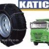 Цепи противоскольжения на грузовые колеса Лесенка 8/8 - 1220x400x533 - 400 - 468 - 533
