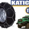 Цепи противоскольжения для грузовиков Зигзаг 8ВП/8 высокопрочные - 1220x400x533 - 400 - 468 - 533