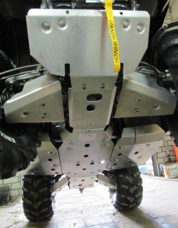 Защита CF Moto CF800 X8 2012 комплект Алюминий 4 мм