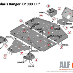 Комплект для квадроциклов Polaris Ranger XP 900 EFI